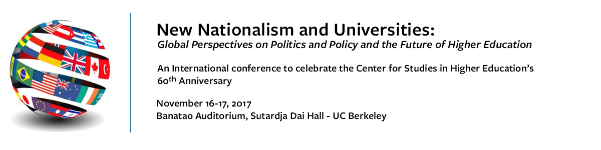 New Nationalism and Universities: Global Perspectives on Politics and Policy and the Future of Higher Education